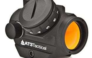 AT3 Tactical RD-50 Red Dot Sight with Low Mount