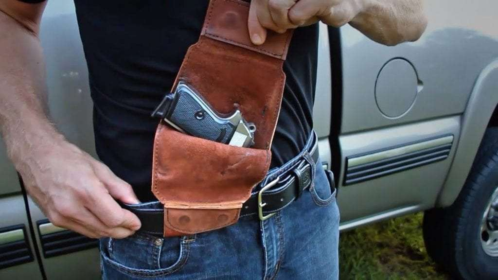 Comfort of a Concealed Carry Holster