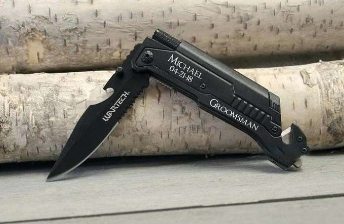 Tactical Pocket Clip Knife