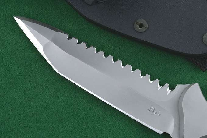 Serrations On Knife Blade