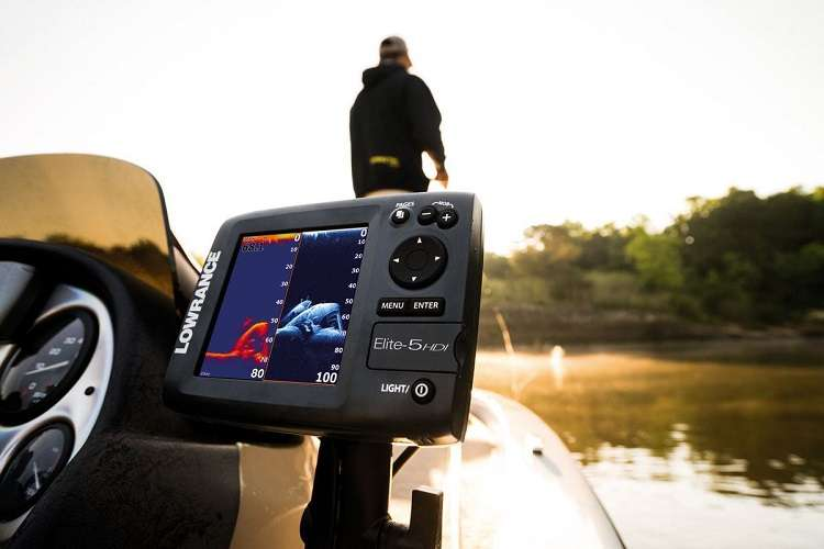 Fishing With Fishfinder