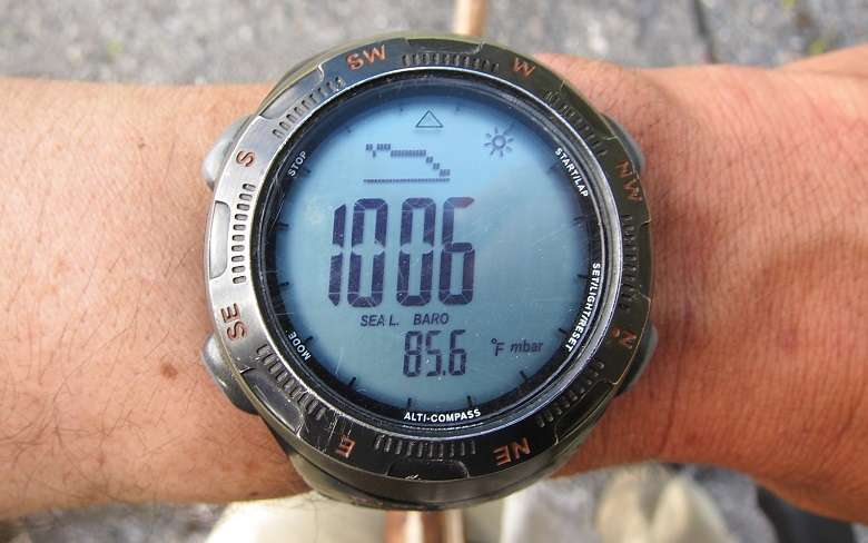 Looking At GPS Watch