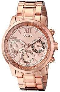 GUESS Womens Stainless Steel Classic Bracelet Watch Review