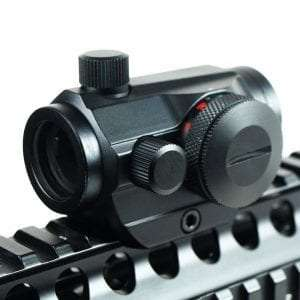 IRON JIAS Tactical Holographic Micro T-1 1X24 Red & Green Dot Scope Riflescope Black with Riser Mount Rifle Hunting Review