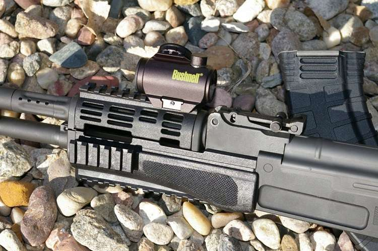 Bushnell Red Dot Sight On Rifle