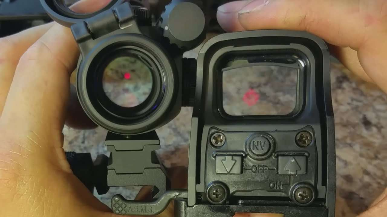Red Dot vs Holographics