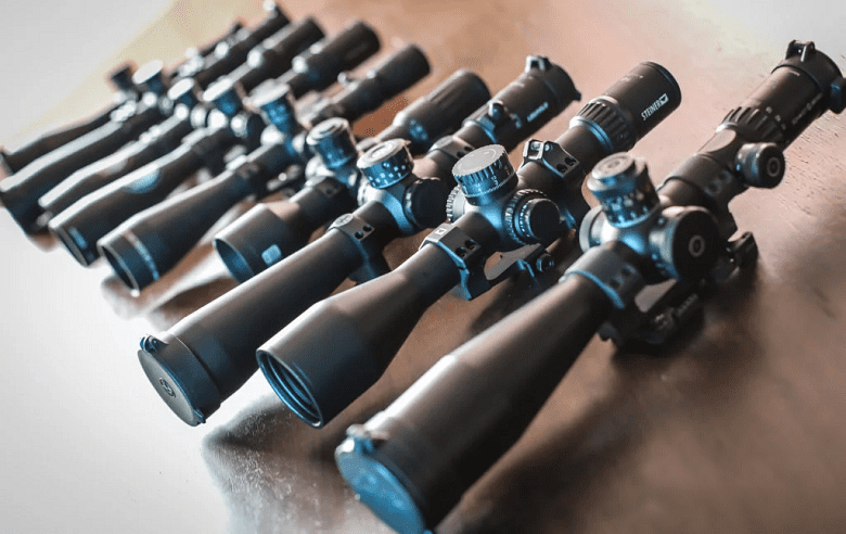 Different Rifle Scopes
