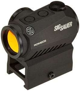 Sig Sauer SOR52001 Romeo5 1x20mm Compact 2 Moa Red Dot Sight Review