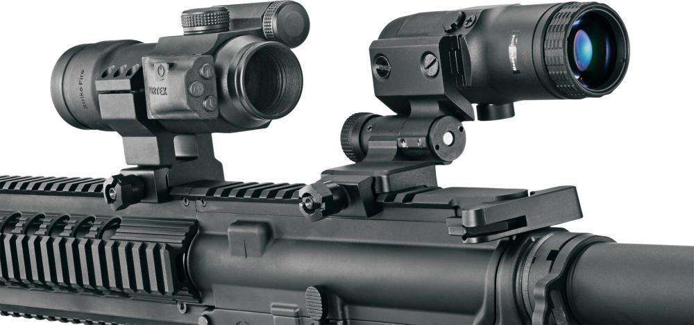 Vortex VMX-3T Magnifier On Gun Review
