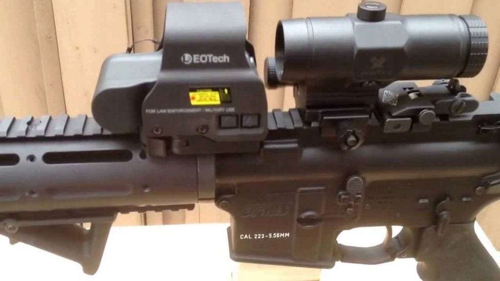 Vortex VMX-3T Magnifier With Red Dot
