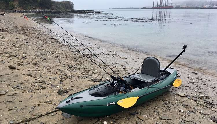 Green Fishing Kayak