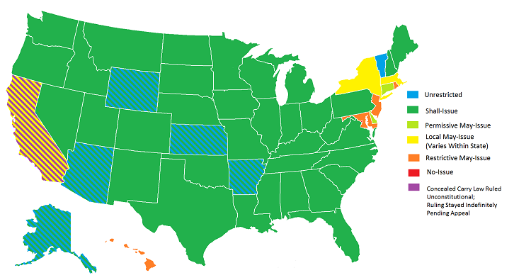 Concealed Carry Law By State