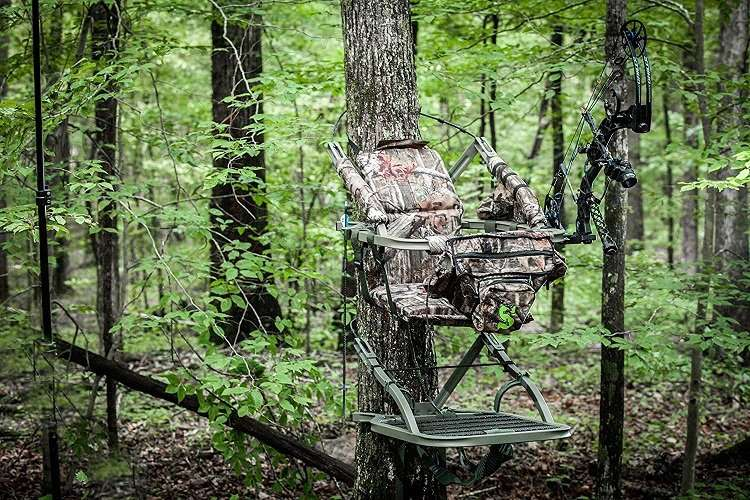 Mounted Hunting Tree Stand