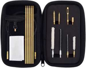 Raiseek .177 Cal & .22 Cal Airgun Cleaning Kit with Cotton Mop Brass Cleaning Rod Nylon Brushes Review
