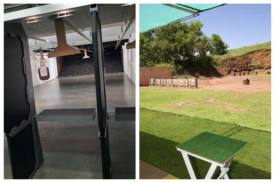 Indoor vs Outdoor Shooting Range