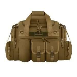 East West U.S.A Tactical Outdoor Multi Pockets Heavy Duty Duffel Bag