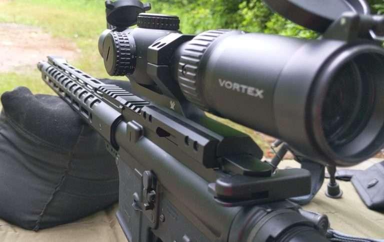 Vortex Strike Eagle 1-6x24 range testing